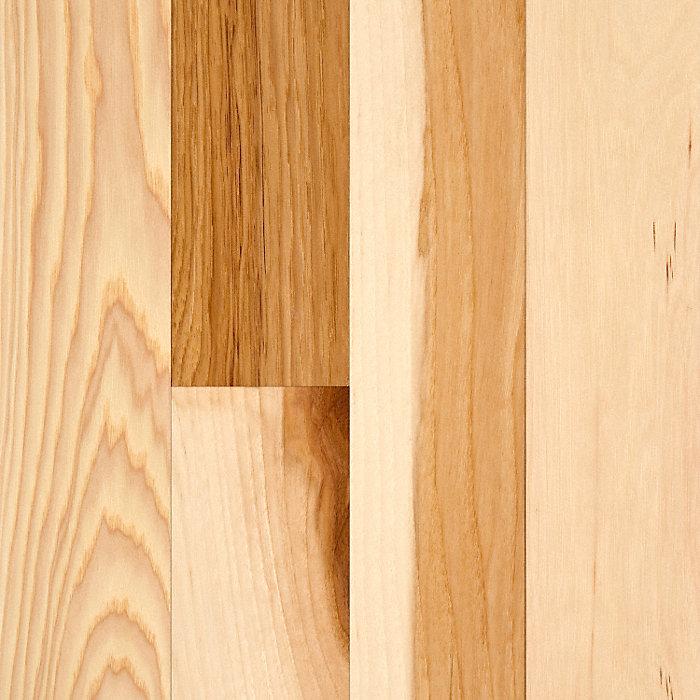3 4 x 3 natural hickory bellawood lumber liquidators for Bellawood prefinished hardwood flooring