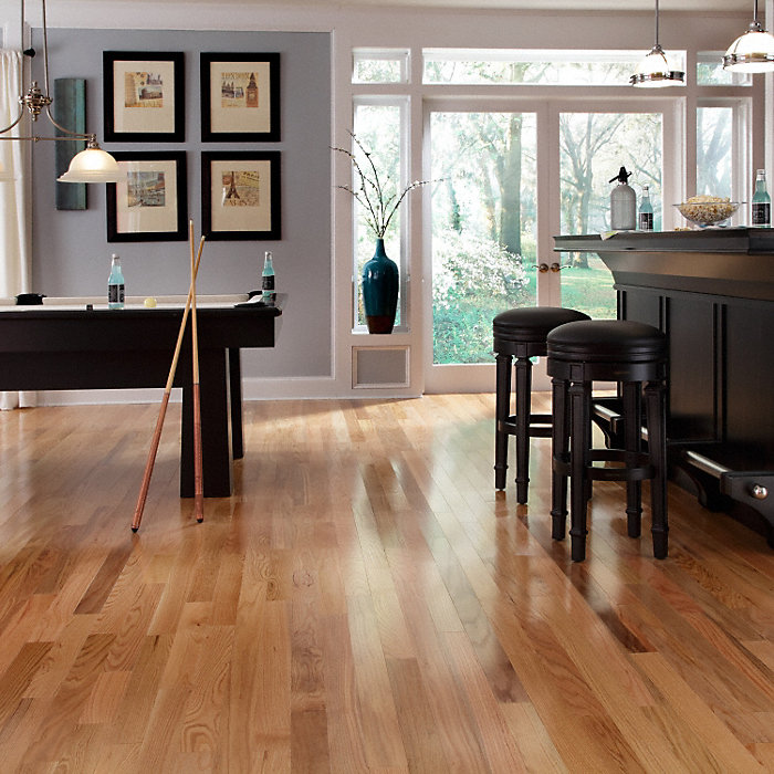 3 8 X 3 Natural Red Oak Flooring Odd Lot Fullscreen