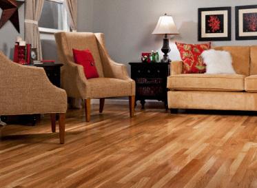 3 4 x 2 1 4 natural white oak bellawood lumber for Bellawood flooring reviews