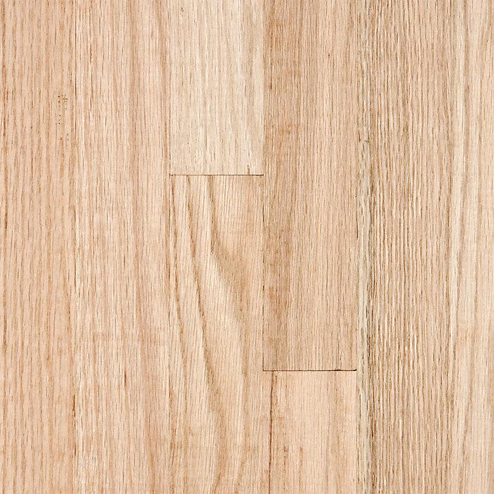 3 4 x 2 1 4 red oak select r l colston lumber for Bellawood prefinished hardwood flooring