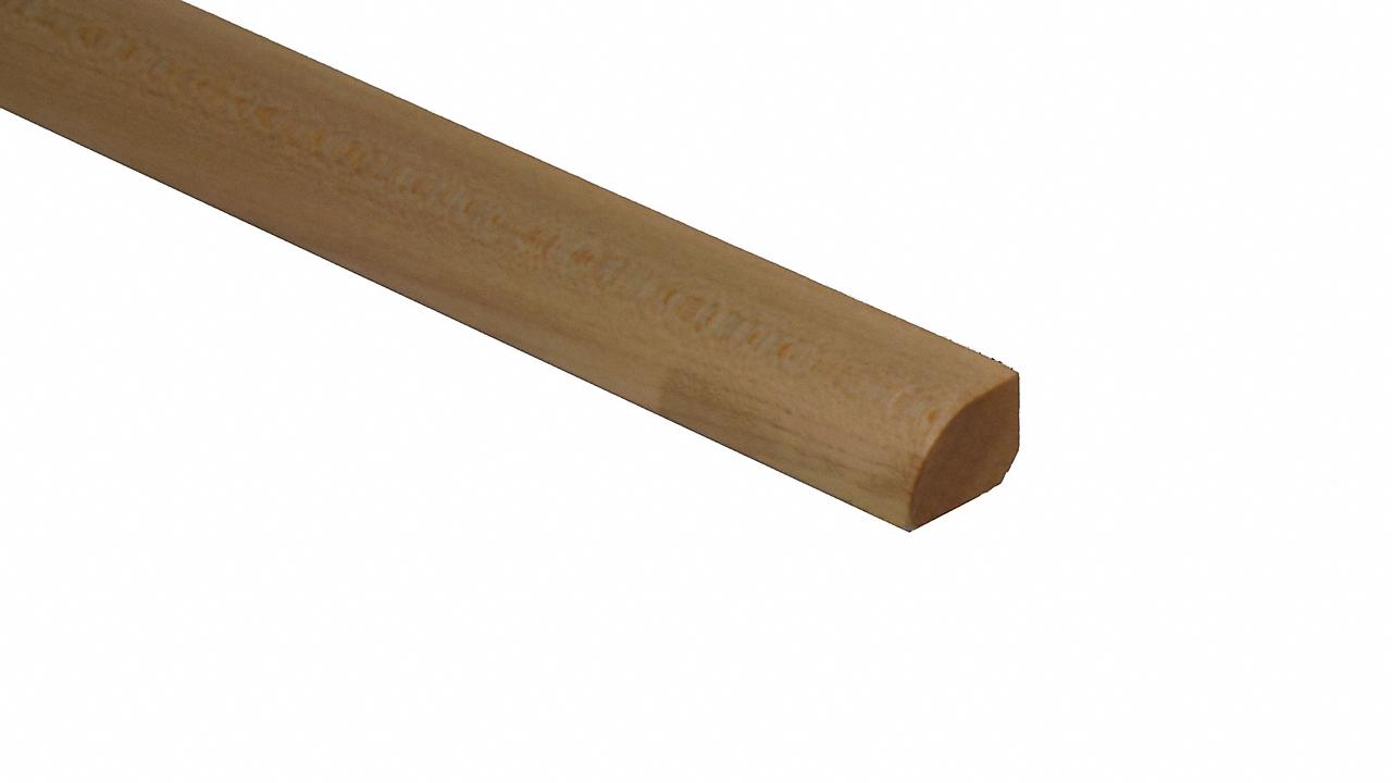 "1/2"" x 3/4"" x 6.5 LFT Maple Shoe Molding"
