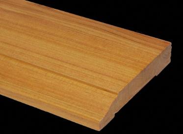 Prefinished Australian Cypress Baseboard Lumber