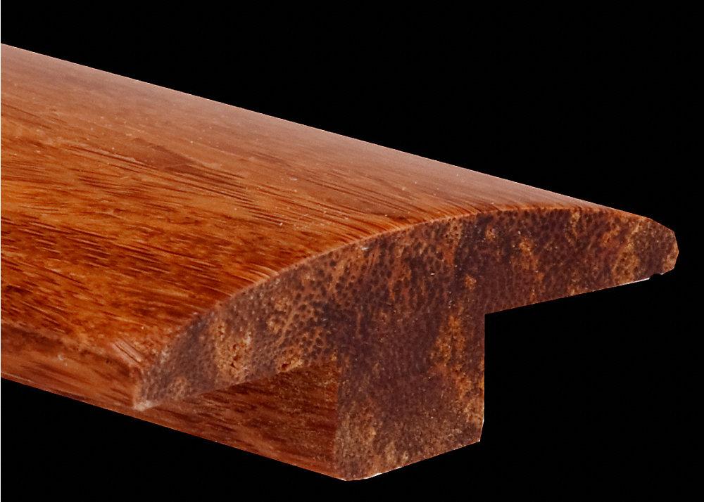 Prefinished Strand Carbonized Bamboo T Molding Lumber