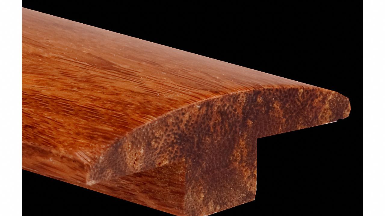 Prefinished Strand Carbonized Bamboo T-Molding