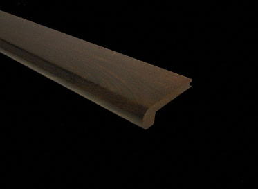 Prefinished Brazilian Walnut Stair Nose