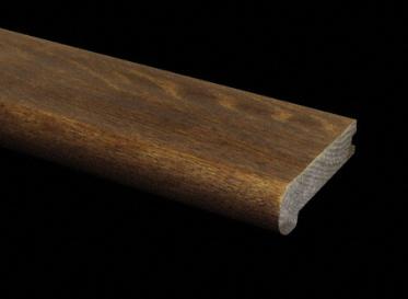 "3/4"" x 3 1/4"" x 6.5LFT Old World Oak Stair Nose"