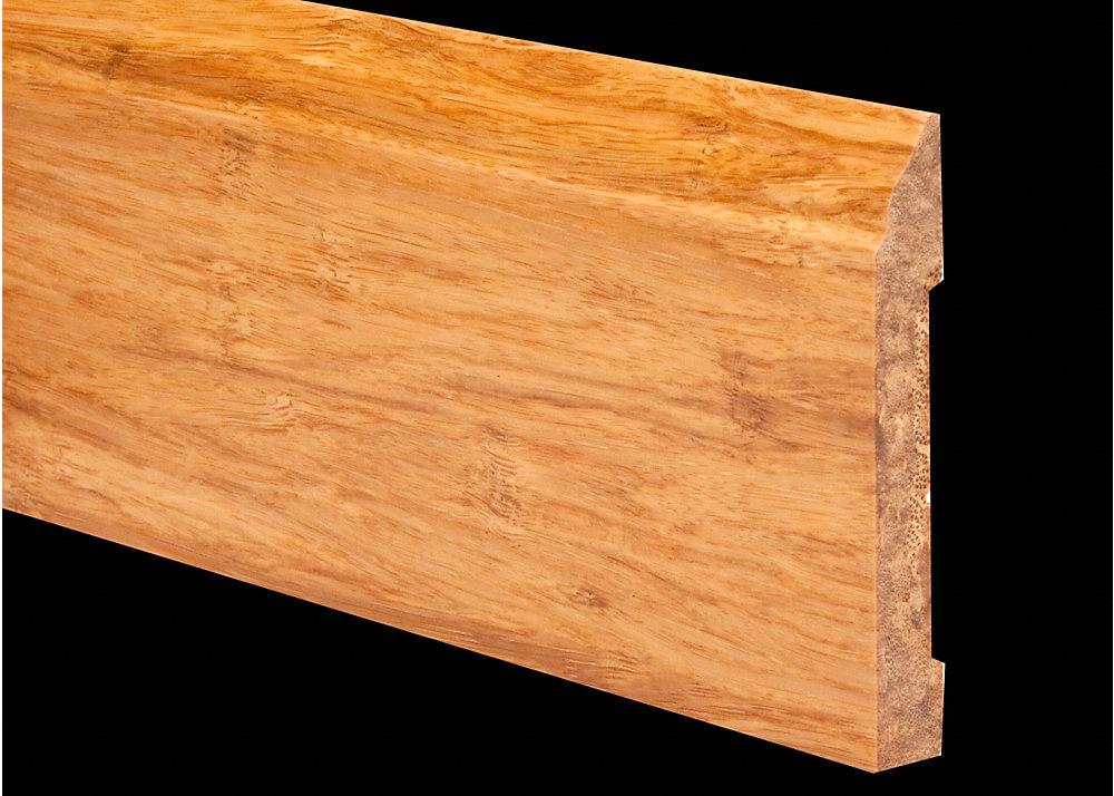 6lft Natural Strand Bamboo Baseboard Lumber Liquidators