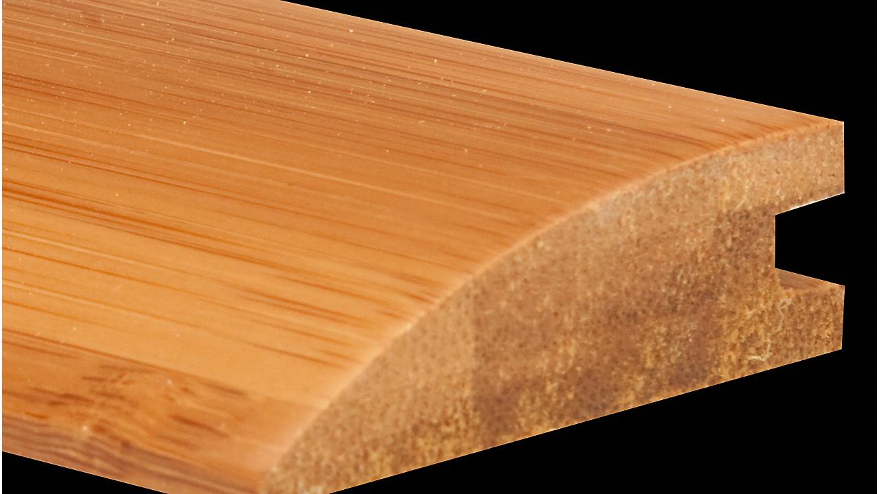 "5/8"" x 2 1/4"" x 6LFT Bamboo Reducer"