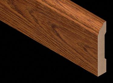 Heritage Long Length Oak Laminate Baseboard-7.5lft