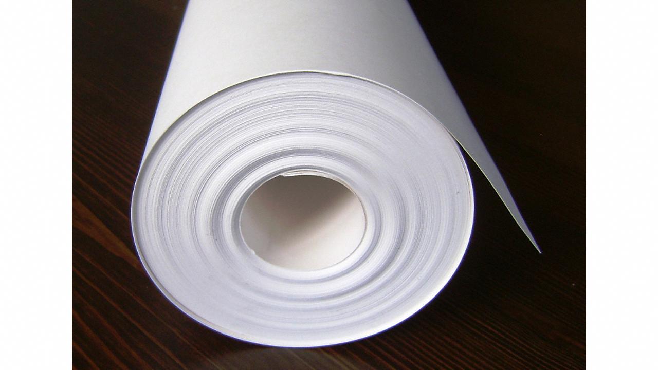 White Silicone Vapor Paper 400 Sq Ft