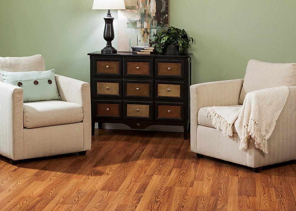 8mm Pad Cinnabar Oak Laminate Dream Home Lumber