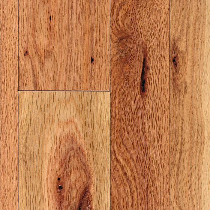 3 4 X 2 1 4 Cottage Natural Red Oak Mayflower Lumber