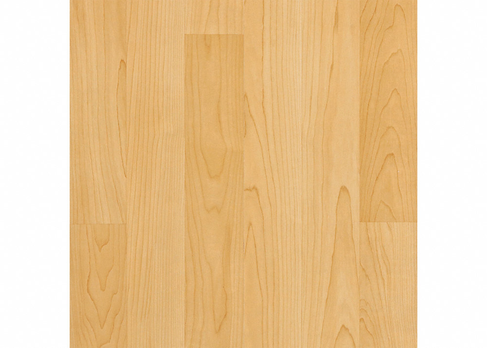Major Brand 7mm Blonde Maple Laminate With Pad Lumber