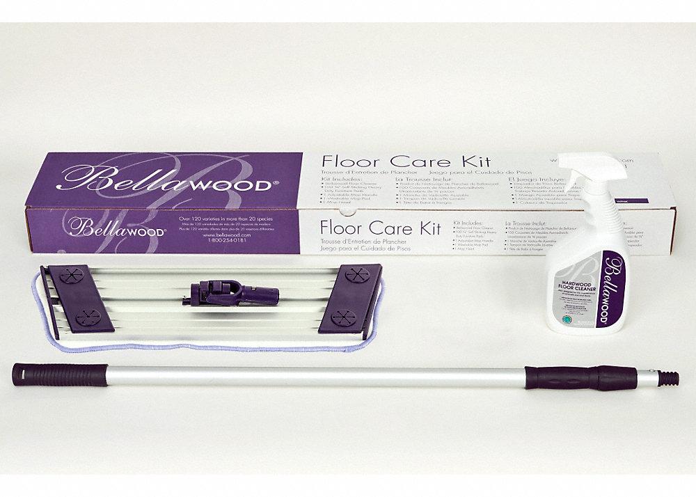Floor care kit bellawood lumber liquidators for Bellawood underlayment reviews