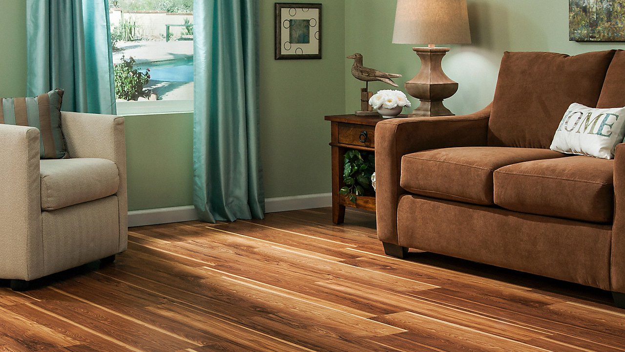 Dream Home 10mm Pad Hot Springs Hickory Laminate