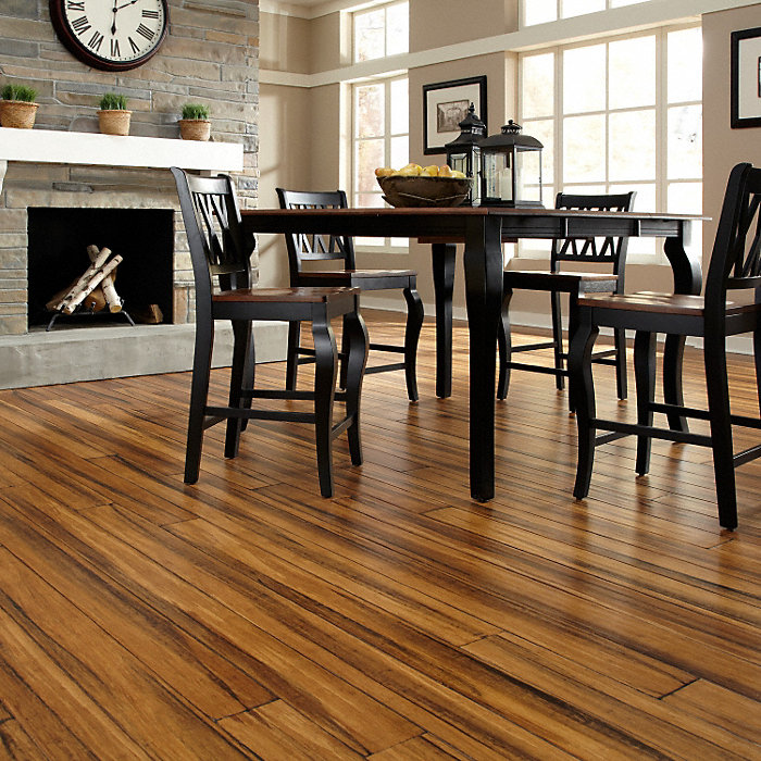 Distressed bamboo hardwood flooring gurus floor for Morning star xd bamboo flooring