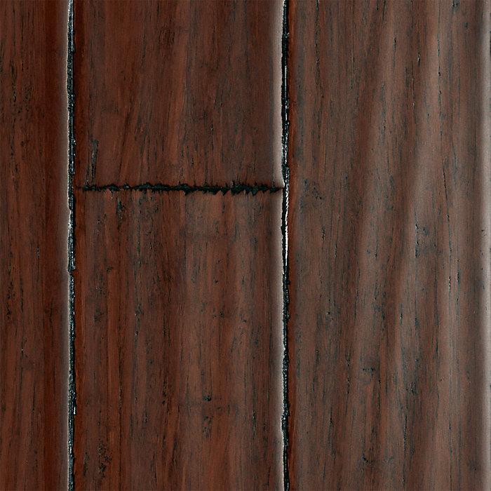 3 8 Quot X 3 3 4 Quot Danyang Strand Handscraped Bamboo Morning
