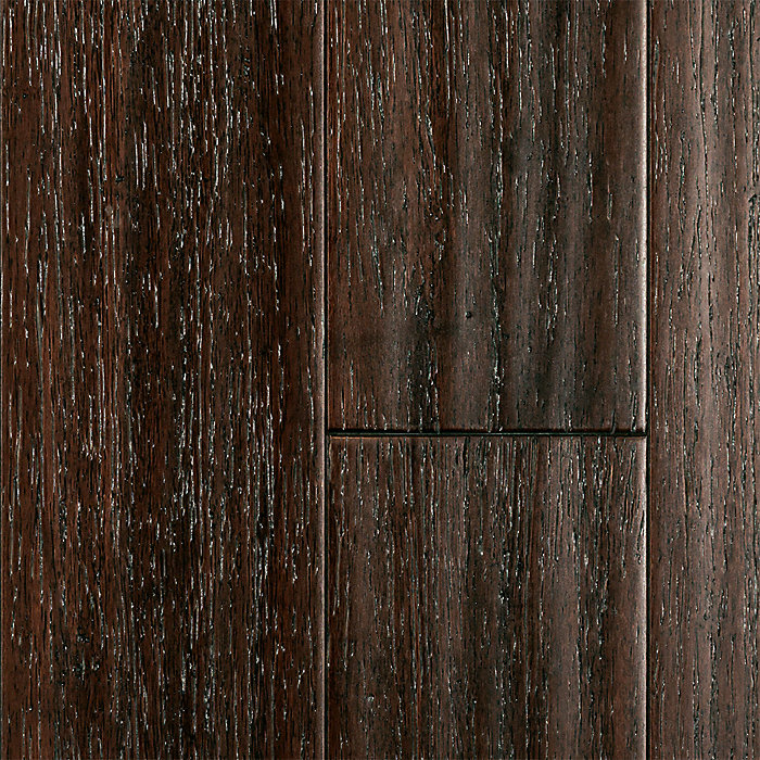 """1/2"""" x 5"""" Weathered Chestnut Click Strand Bamboo"""