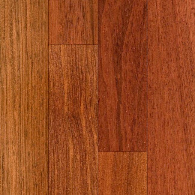Rio verde 3 4 x 3 1 4 select brazilian cherry lumber for Bellawood prefinished hardwood flooring