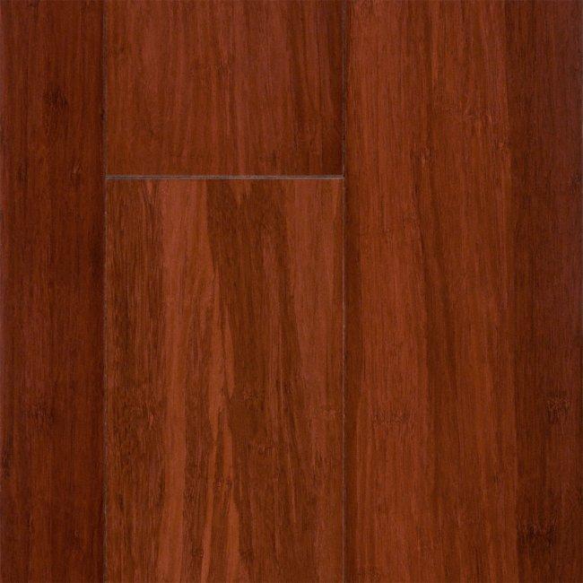 Morning star click 1 2 x 5 auburn saddle click strand Morning star bamboo flooring