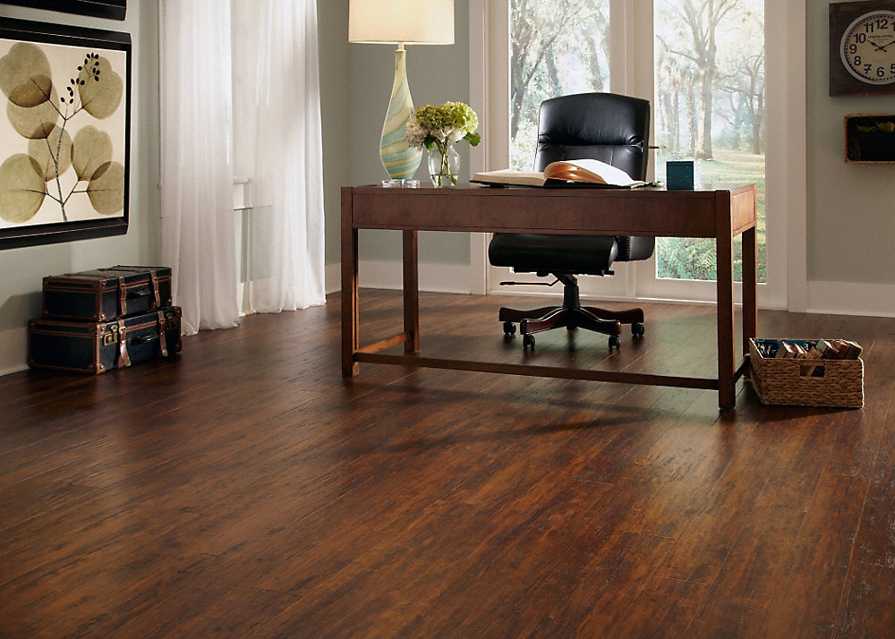 12mm Pad Warm Springs Chestnut Laminate Dream Home Kensington Manor Lumber Liquidators