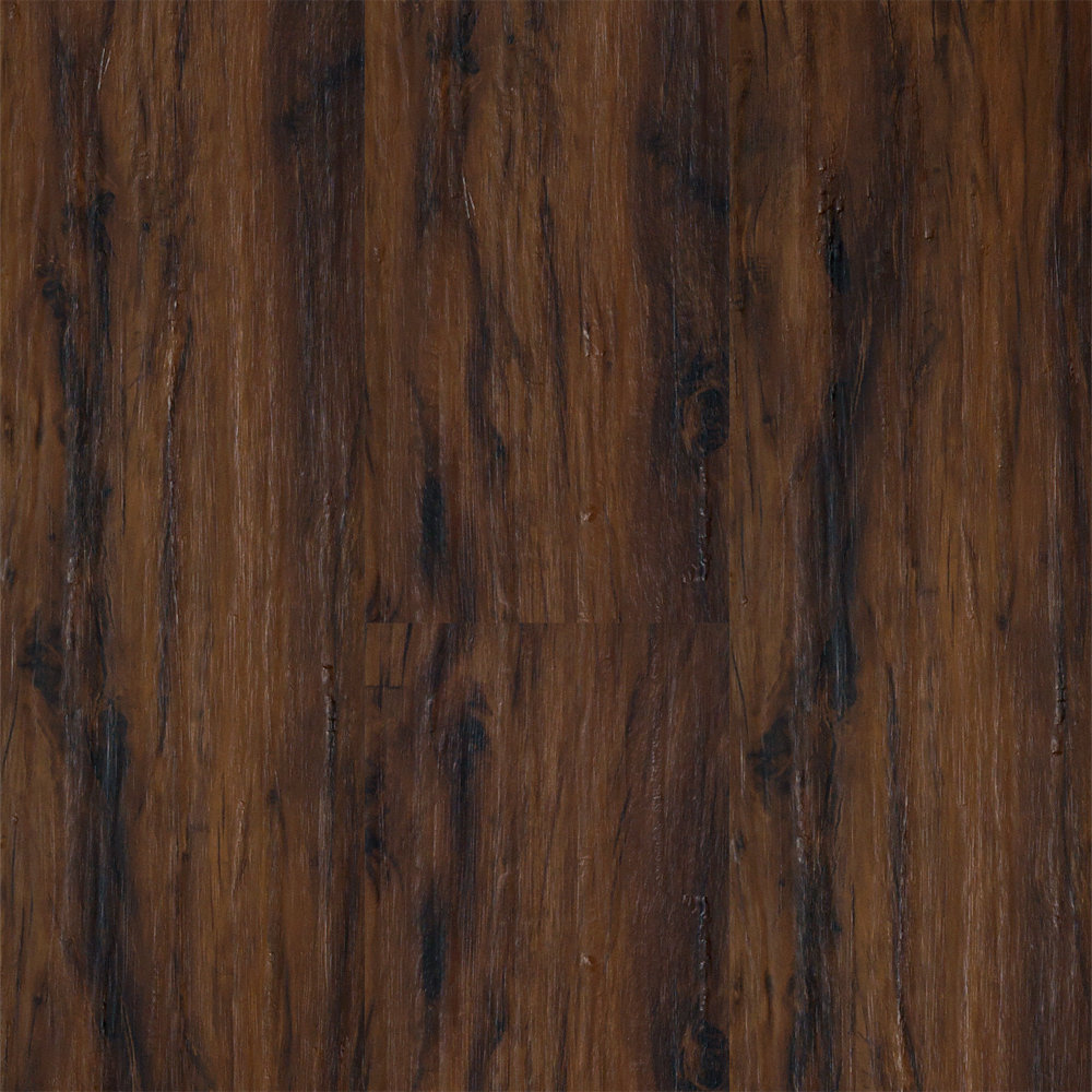 4mm lake fork creek cedar lvp tranquility lumber for Dark wood vinyl flooring