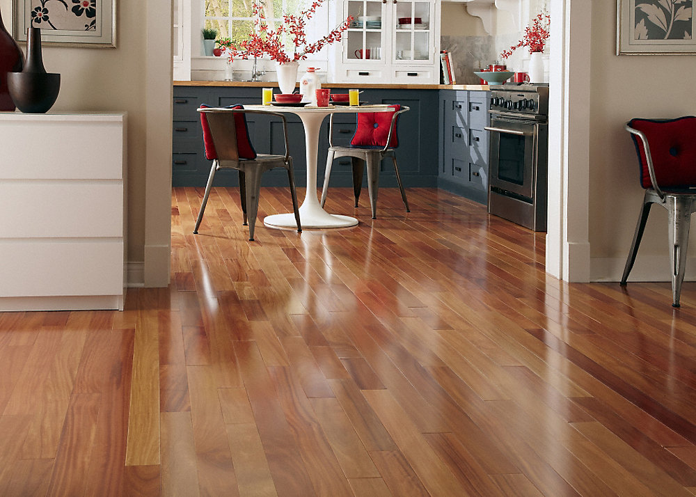 Cumaru Hardwood Flooring cumaru clear prefinished flooring 34 X 3 14 Select Red Cumaru Fullscreen