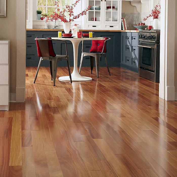 red cumaru hardwood flooring
