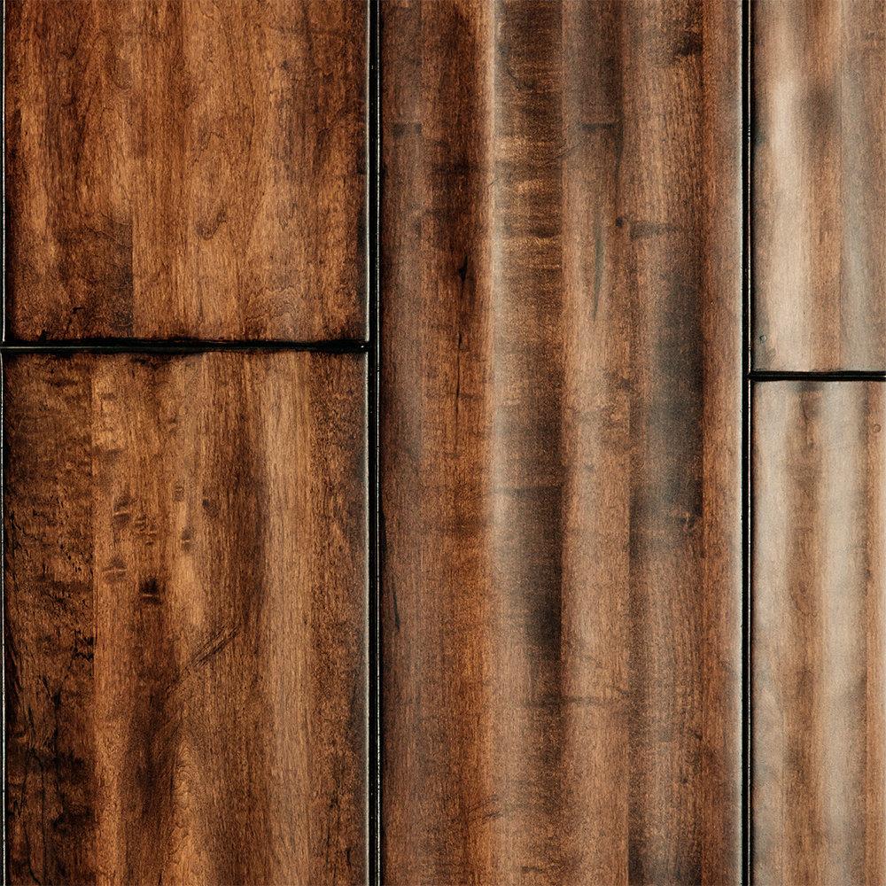 3 4 x 7 stone island palace maple handscraped virginia for Virginia mill works flooring