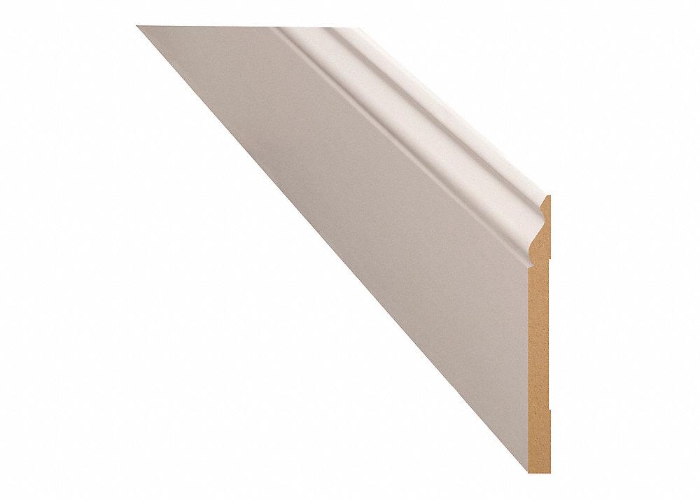 9 16 X 5 1 4 12 Pfj White Colonial Baseboard