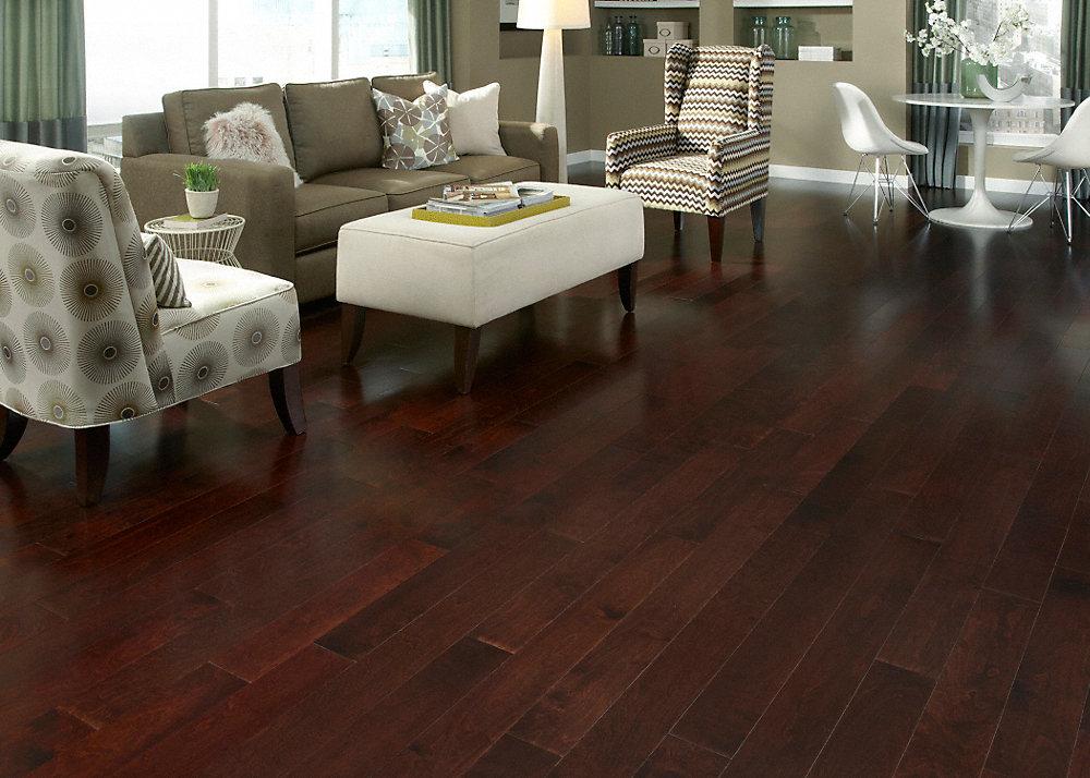 38 X 4 34 Tuscan Red Birch Engineered Mayflower Lumber