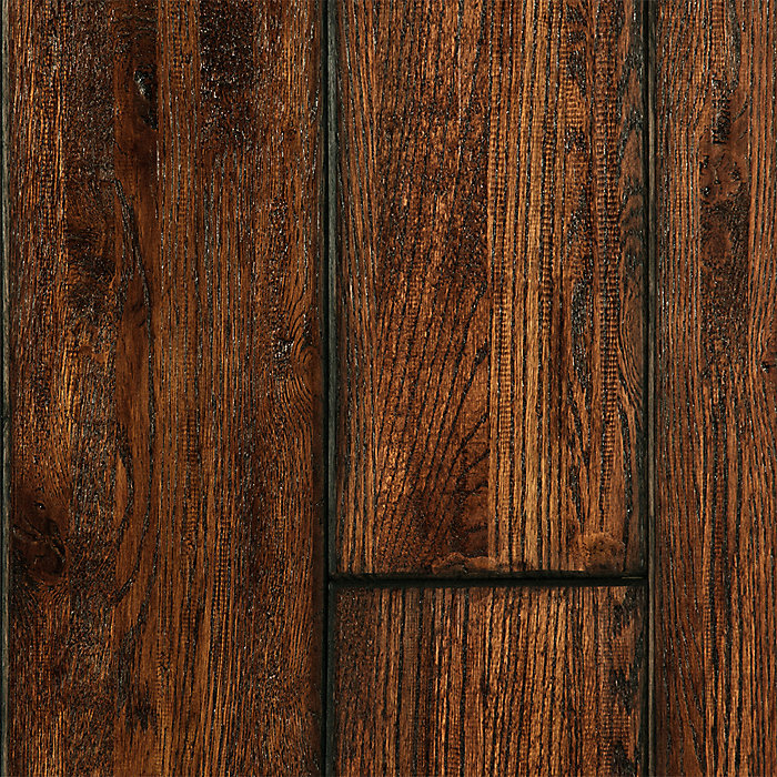 "Lm Flooring Stony Brook Ridgeline Hardwood Flooring: Virginia Mill Works 3/4"" X 7"" Bolton Oak Handscraped"
