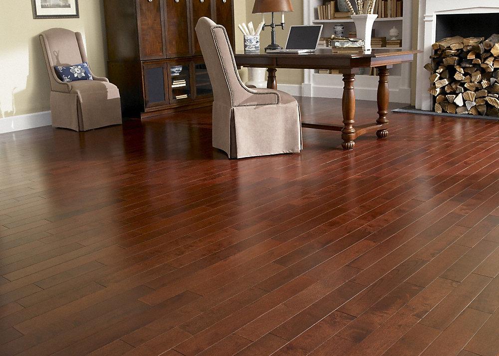 3 4 x 3 1 2 moroccan cherry hevea builder 39 s pride for Builders pride flooring installation