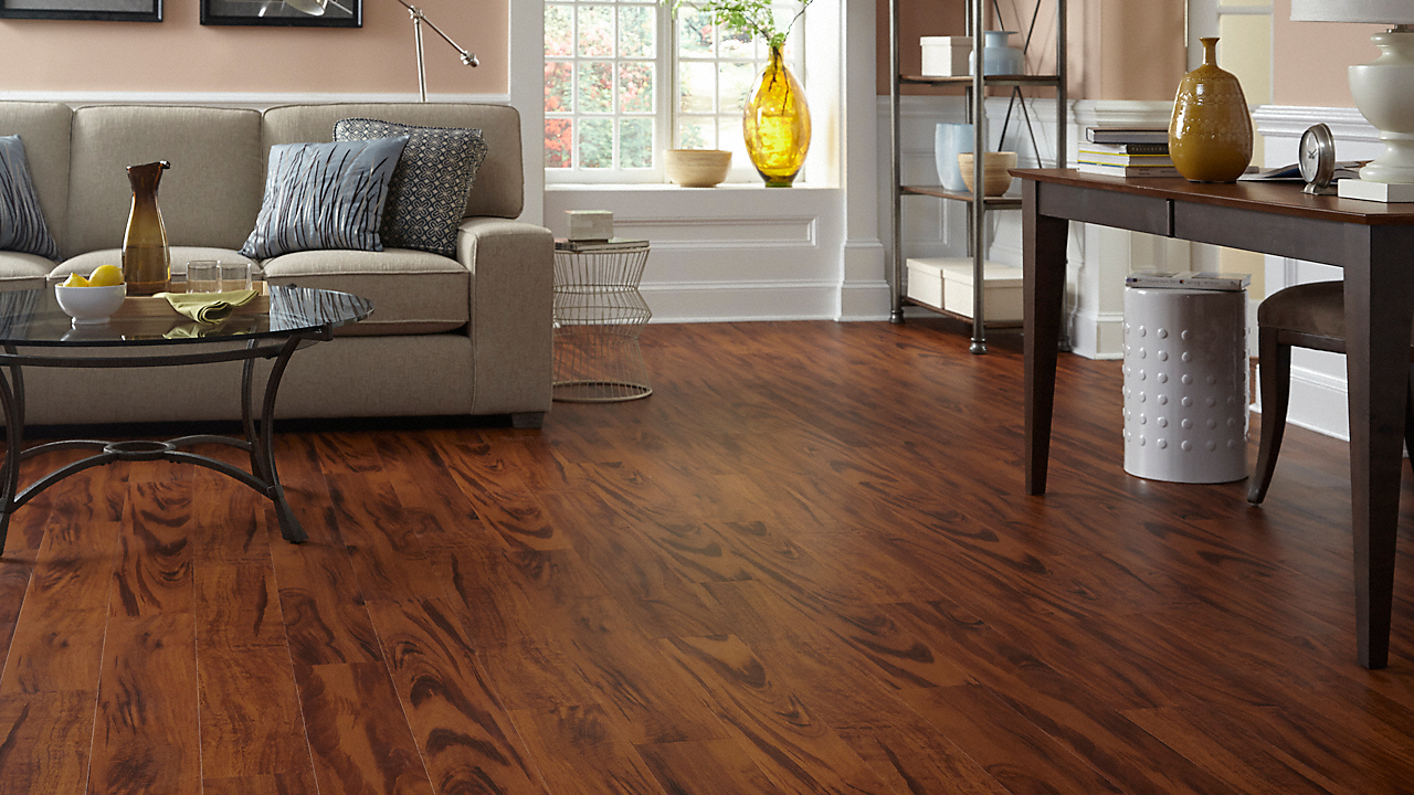 5mm brazilian koa click resilient vinyl tranquility for Where is tranquility flooring made