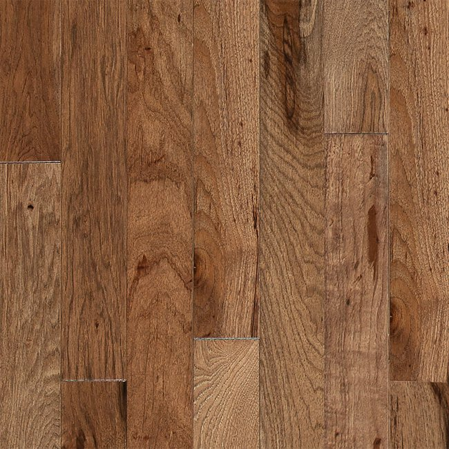 Walnut Hickory Solid Hardwood