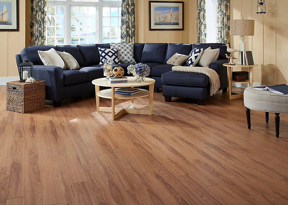 10mm pad crystal springs hickory laminate dream home for Dream home flooring