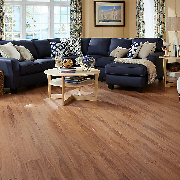 Hickory laminate flooring dixon run appalachian hickory 8 for Crystal springs hickory laminate