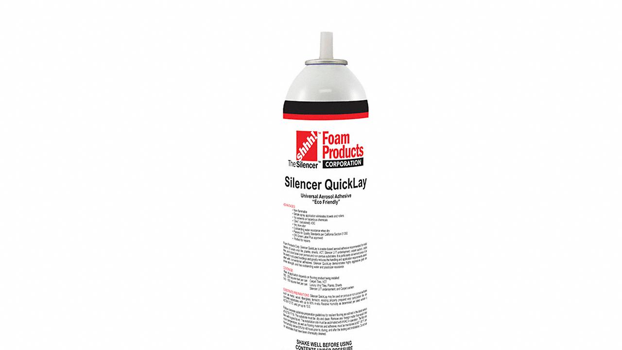 Silencer Vinyl Spray Adhesive 22oz