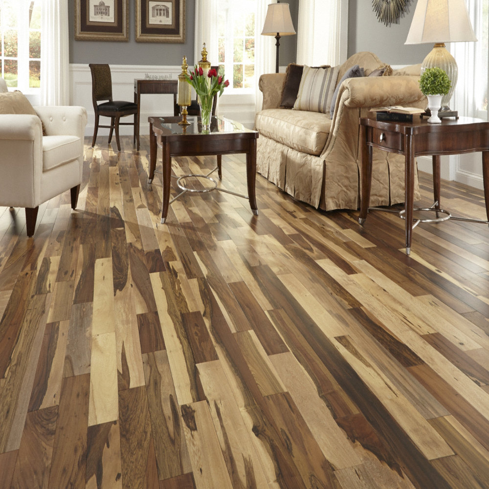 Bellawood Engineered 1 2 Quot X 5 1 8 Quot Matte Brazilian Pecan