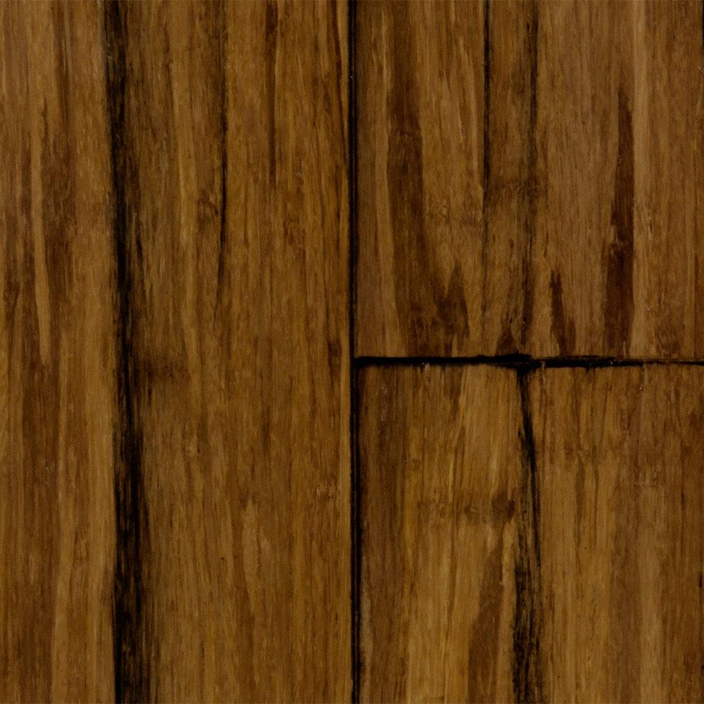 1 2 X 5 Pipa Click Handscraped Bamboo Morning Star