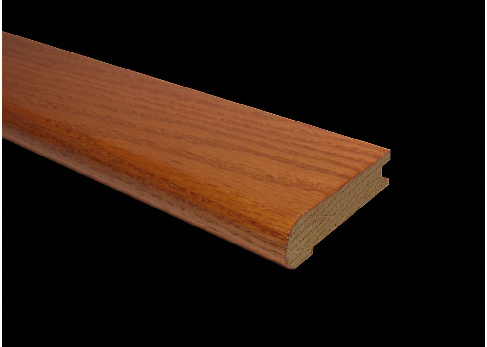 3 4 x 3 1 8 x 78 buttercup oak stair nose lumber for Builders pride flooring installation