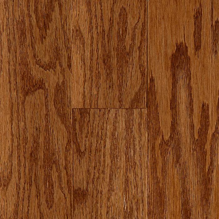 engineered thick bruce depot hardwood the gunstock n floors in oak length home x wood random flooring wide b