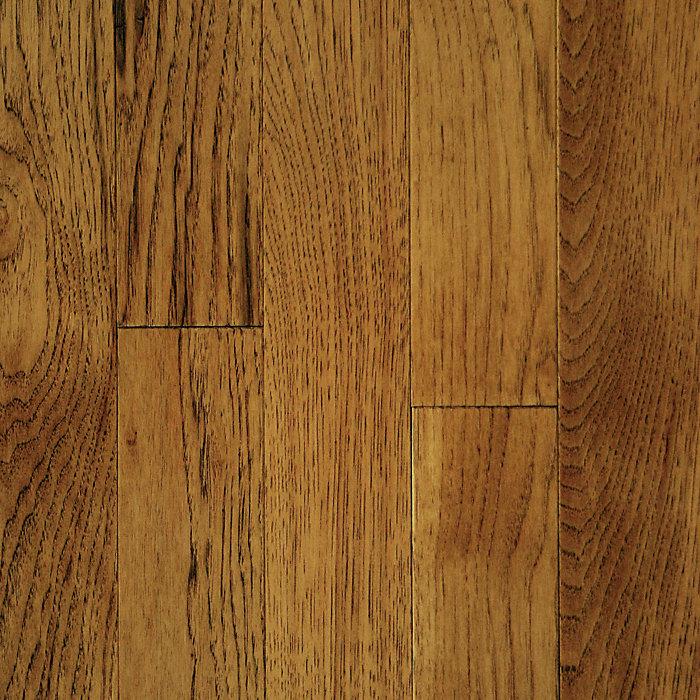 "Shop Mullican Flooring Nature 4 In Natural Maple Hardwood: 3/4"" X 2-1/4"" Saddle Hickory - Mayflower"