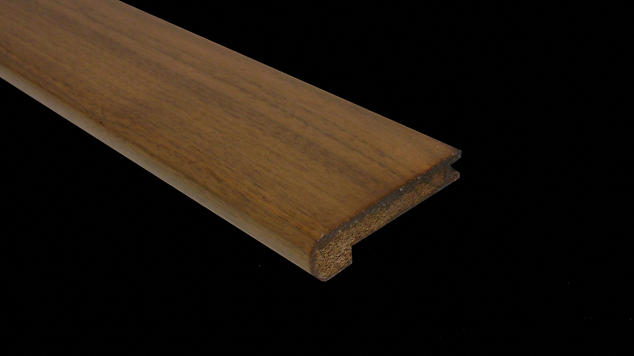 "1/2"" x 2-3/4"" x 78"" American Walnut Stair Nose"