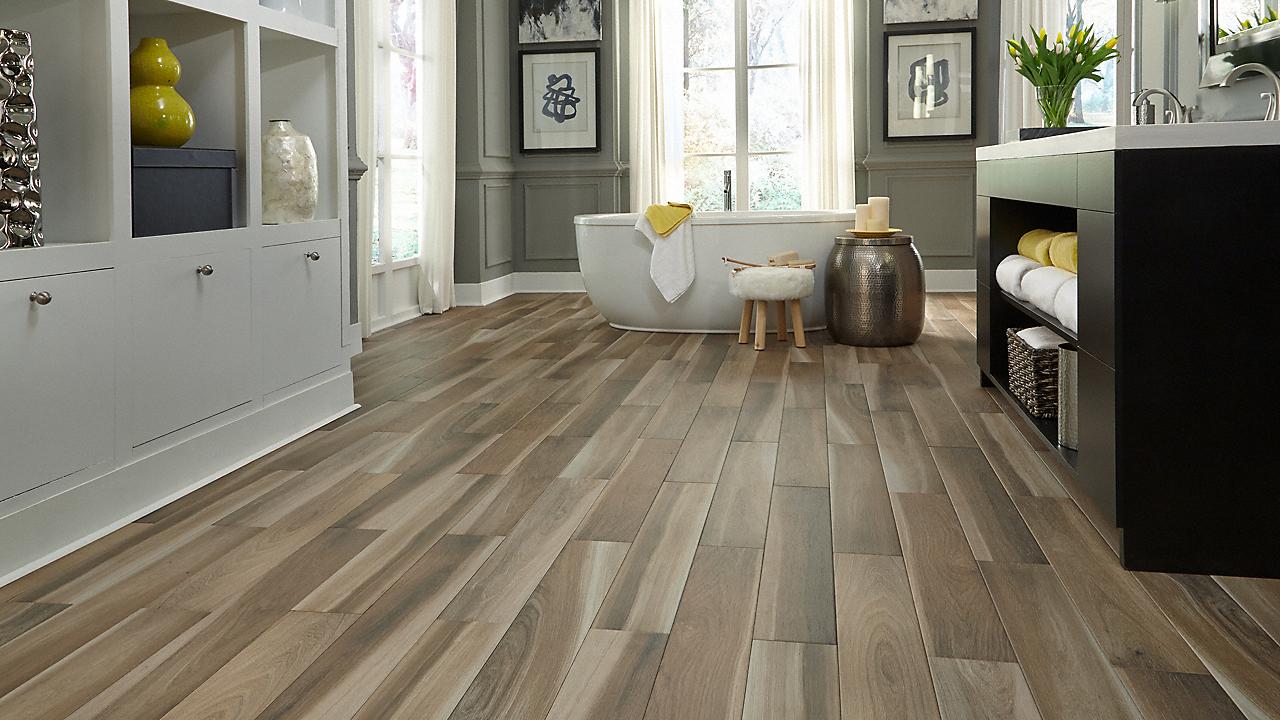 Avella 36 X 6 Brindle Wood Natural Porcelain Tile