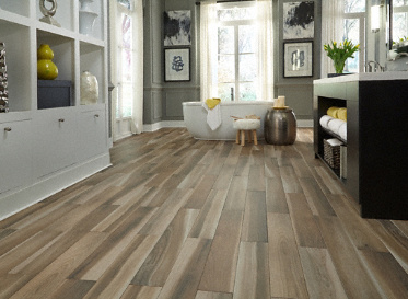 X Brindle Wood Natural Porcelain Tile Avella Lumber - Clear coat for tile floors