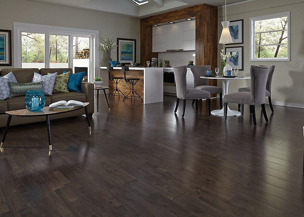 3 4 x 6 espresso hevea builder 39 s pride lumber for Builders pride flooring installation