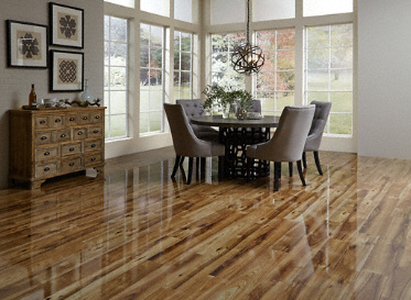12mm Heard County Hickory High Gloss Laminate Dream Home