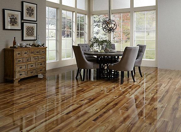 Stunning High Gloss Laminate Flooring Cleaning