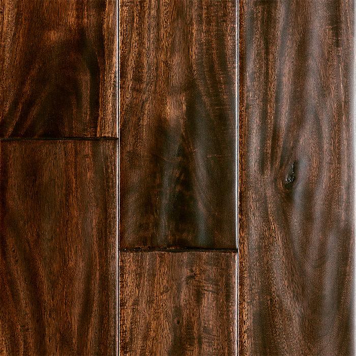 "Acacia Hardwood Flooring From Lumber Liquidators: Major Brand 1/2"" X 4-5/8"" Bronzed Acacia"